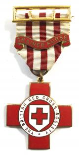 British Red Cross Society VAD Trained Nurse technical medal named