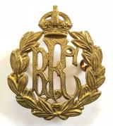 WW1 Royal Flying Corps other ranks RFC brass cap badge