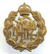 Royal New Zealand Air Force brass other ranks RNZAF cap badge