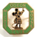 Mickey Mouse Odeon Cinema childrens club badge