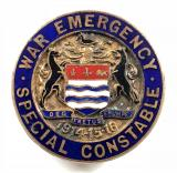 WW1 Newark War Emergency Special Constable police badge