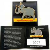 Guinness & Co Limited Edition badge Zoo Keeper riding Elephant