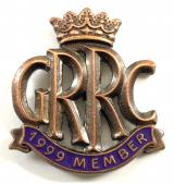 Goodwood Road Racing Club GRRC 1999 membership badge