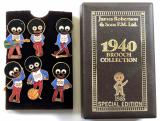 James Robertson & Sons 1985 Special Edition Golly brooch collection
