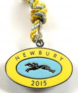 Newbury Race Club 2015 horse racing badge
