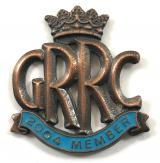 Goodwood Road Racing Club GRRC 2004 membership badge