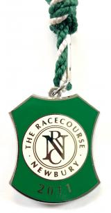 Newbury Race Club 2011 horse racing badge