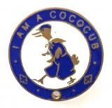 Cococub League childrens club advertising badge Cadbury Bournville Chocolate