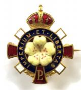 Primrose League Honorary Dame of the league political badge