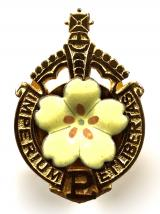 Primrose League Honorary Knight of the League political badge