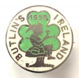 Butlins 1958 Mosney Ireland holiday camp Shamrock Leprechaun badge