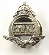 Royal Air Force Volunteer Reserve RAFVR officially numbered badge