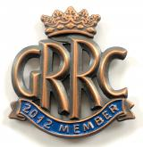 Goodwood Road Racing Club GRRC 2012 member badge