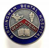 Birmingham Dental Hospital nurses badge