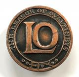 League of Ovaltineys children's club bronze membership badge