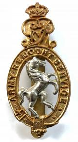 WW1 Army Remount Service cap badge by Lambourne & Co