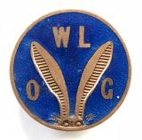 Wilfredian League of Gugnuncs WLOG Pip Squeak and Wilfred childrens club badge