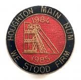 National Union of Miners Houghton Main NUM 1984 strike badge