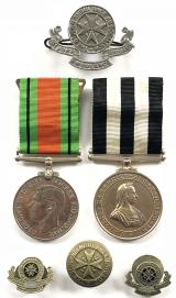 Service Medal of the Order of St John and Second World War Defence Medal