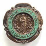 General Nursing Council State Enrolled Nurse SEN badge
