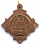 British & Foreign Sailors Society copper medal from Nelsons ship