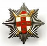 City of York Fire Brigade firemans cap badge 1948 to 1974