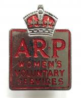 ARP Womens Voluntary Services pin badge
