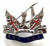 Honourable Artillery Company Old Comrades Association badge