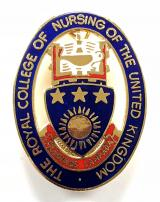 Royal College of Nursing of the United Kingdom RCN badge
