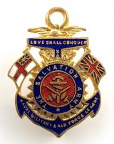 The Salvation Army Naval Military & Air Force League badge