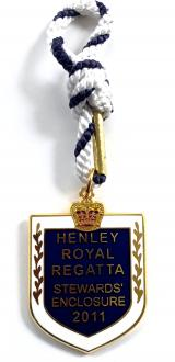 2011 Henley Royal Regatta stewards enclosure badge