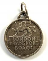 London Transport Board senior staff free road and rail travel pass badge