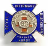 Blackburn Royal Infirmary Trained Nurse silver badge