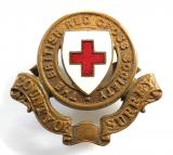 WW1 British Red Cross Society County of Surrey Cap Badge