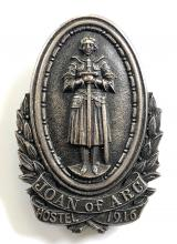 WW1 Royal Arsenal Woolwich Joan of Arc Hostel 1916 women workers badge
